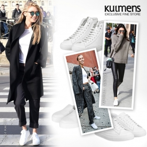 Trend Check - Weiße Sneakers!