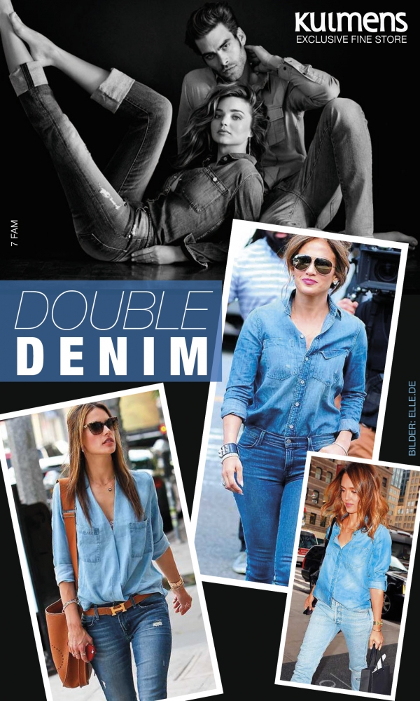 Trends 2015: Double Denim